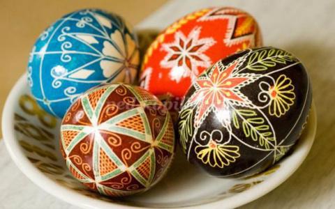 Идеи росписи и украшения пасхальных яиц в домашних условиях