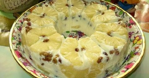 Воздушный творожный десерт «…