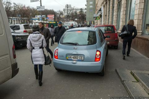 Дикие украинцы против европе…