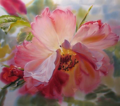 Шелковые цветы от Елены Тенер