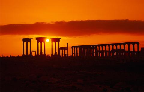 Музей Дамаска представит спасенные из Пальмиры ценности