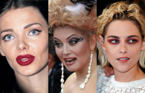 Что у вас с лицом? 25 фото звезд, опозорившихся из-за странного макияжа