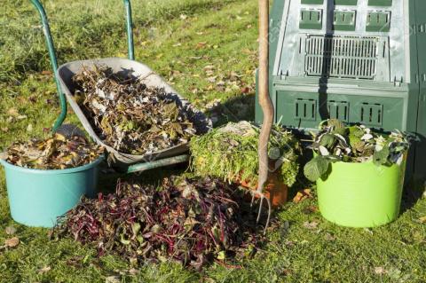 Берем пользу от мусора: осенний компост