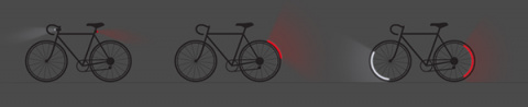 Революционная система освещения велосипеда в скором будущем