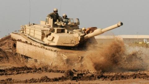 «Абрамсы» прекрасно горят в Ираке