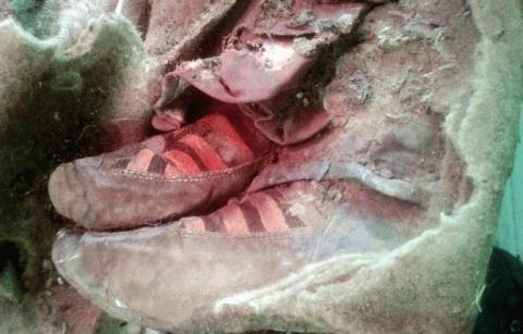 Мумия, которую обнаружили в …