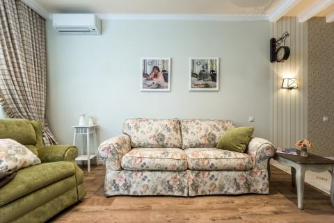 Как из однушки сделать двушку: квартира в стиле прованс