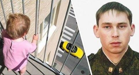 Спецназовец на лету поймал в…