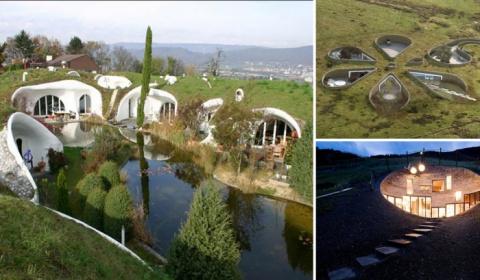 Жизнь под землёй: 10 уютных подземных домов, в которых переносишься в сказку