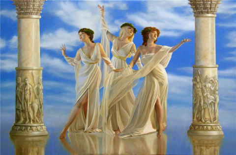 Гороскоп - Какая вы Древнегреческая богиня? Фокусы нашего тела))