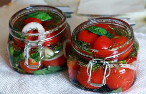Квашеные помидоры быстрого п…