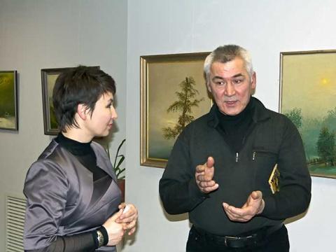 Персональная выставка Ахата Хисамутдинова