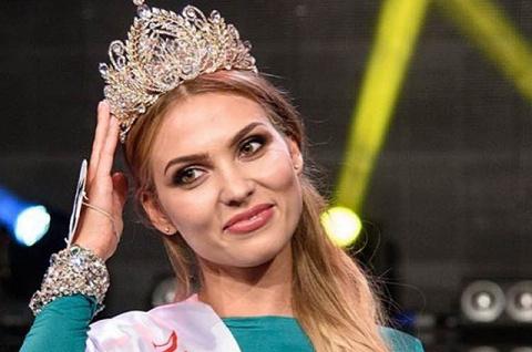 "Титул ""Мисс Москва"" завоевала Татьяна Цимфер"