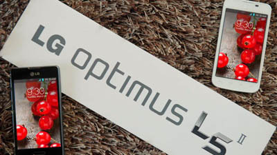 LG начала продажу Optimus L5 II