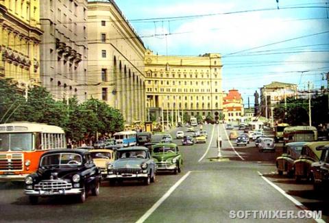 Москва 1960-х в цвете
