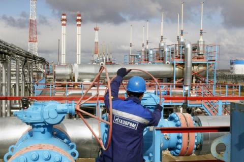 Абсолютный рекорд: «Газпром»…