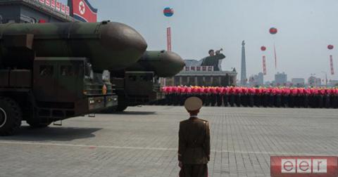 КНДР, в целях демонстрации, …