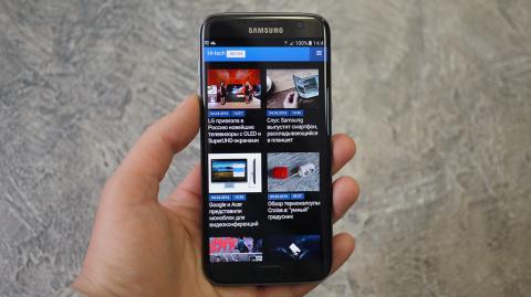 Обзор Samsung Galaxy S7 edge…