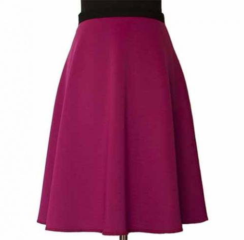 Простое шитье - коническая юбка