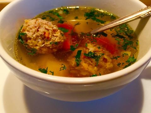 Суп с гречневыми фрикадельками .И мои советы