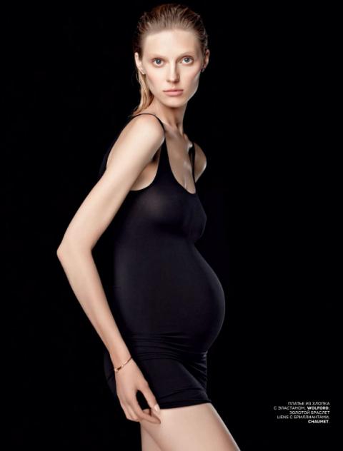 Как фотомодели возвращаются в форму после материнства