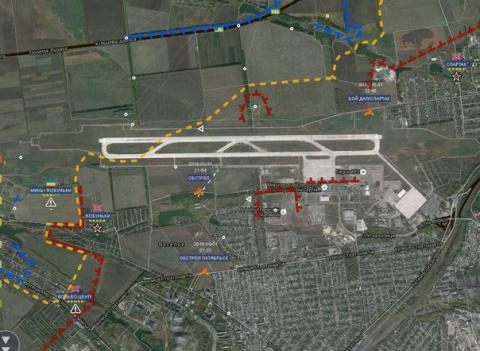 Бои в Донецке идут круглосуточно