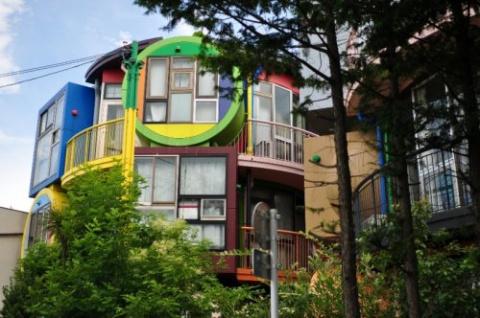 Дом для активных пожилых япо…
