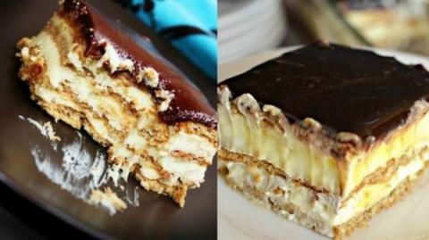 Торт-эклер без выпечки - вск…