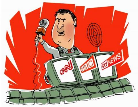 Война с помощью СМИ и торжество пропаганды