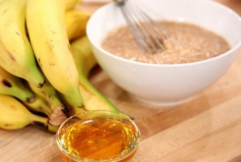 Банан с мёдом - одно из лучш…