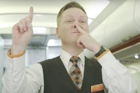 Загадочный язык жестов бортп…