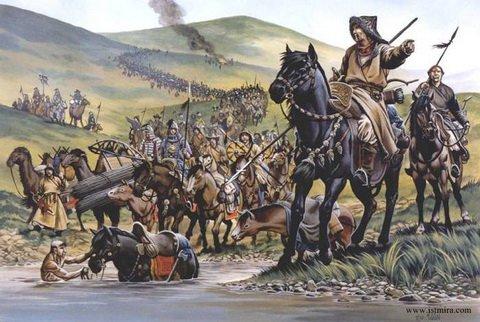 Монголо-татарское иго на зем…
