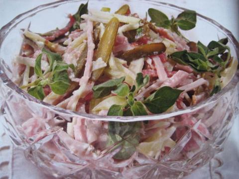 Швейцарский новогодний салат от Mar Bel
