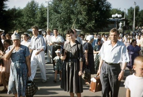 СССР 1958 года в фотографиях…