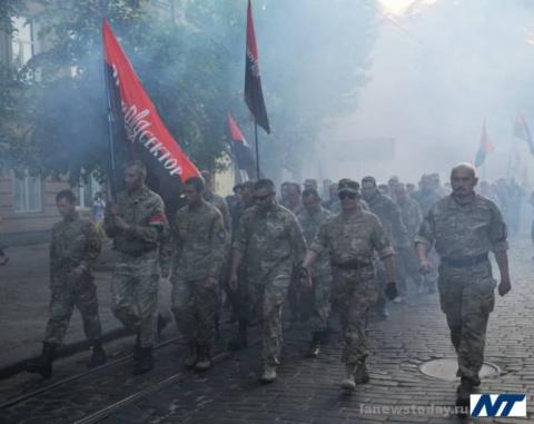 Правый сектор грозит казнить Порошенко в грязном подвале