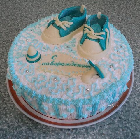 """Торт """"С новорождённым"""""""