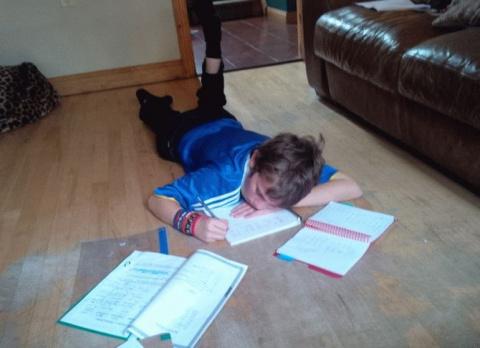 Мальчик аутист написал стих …