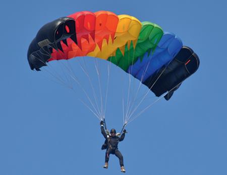 Интересные факты о парашютном спорте