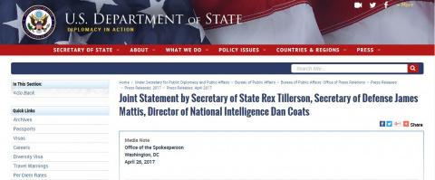 Это уже серьезная заявка США на войну с КНДР