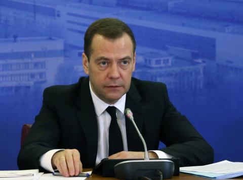 Медведев об Украине: там промышленности нет, государства не существует