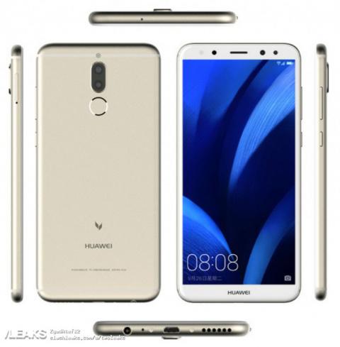 Опубликованы пресс-снимки Huawei G10 (Maimang 6) с четырьмя камерами