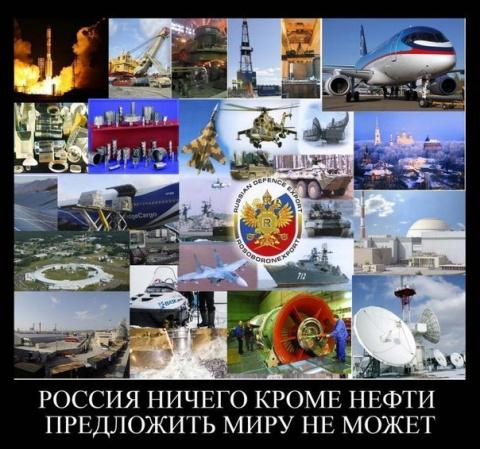 Россия не может гордиться ничем, кроме нефти? 25 аргументов против. Серия Россия - как супердержава.