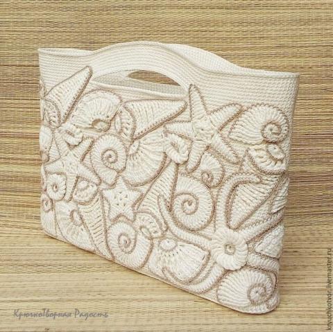 Декор пляжной сумки