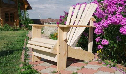 Самодельное кресло для отдых…