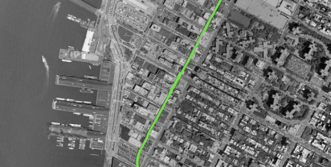 «Зеленая змея» Манхеттена