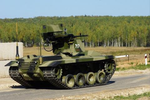 Боевой робот «Нерехта» приму…