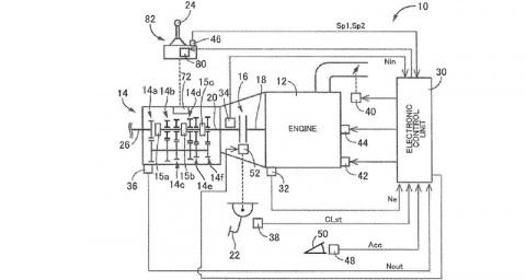 Японцы запатентовали самую странную коробку передач