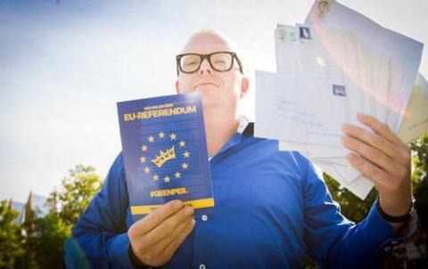 Украина пытается сорвать референдум в Нидерландах