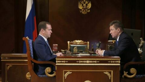 Миллер доложил Медведеву о р…