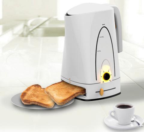 Жарим кофе - греем хлеб